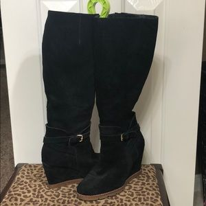 Kate Spade Surie Suede Wedge boot